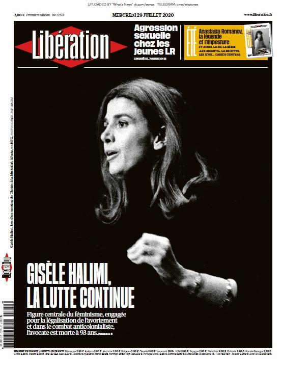 Libération – 29.07.2020