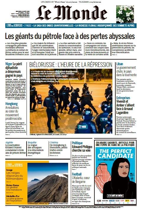 Le Monde – 12.08.2020