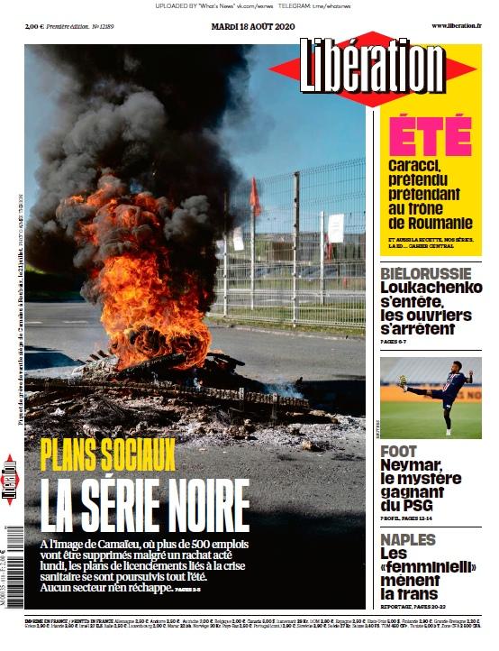 Libération – 18.08.2020