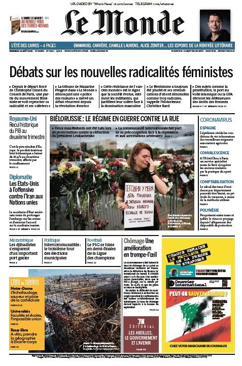 Le Monde – 15.08.2020