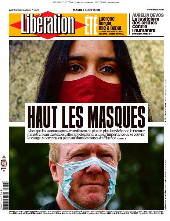 Libération – 04.08.2020