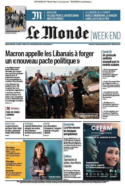 Le Monde – 08.08.2020