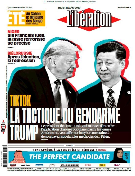 Libération – 11.08.2020