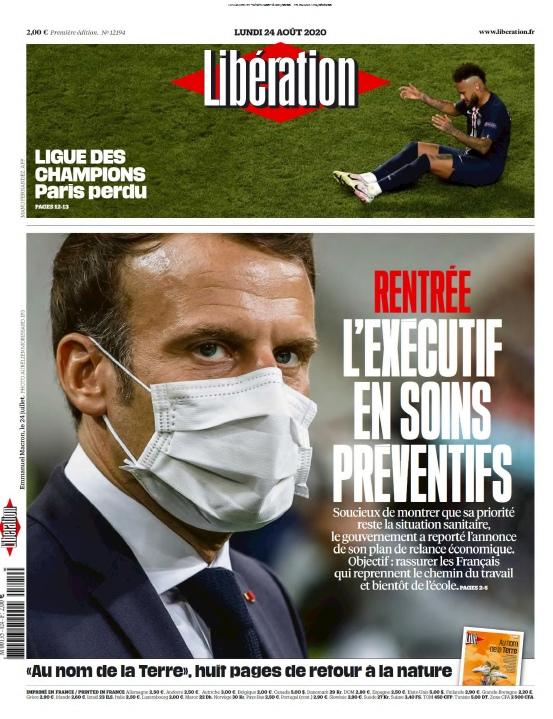 Libération – 24.08.2020