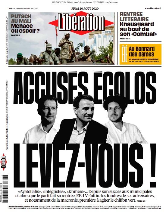 Libération – 20.08.2020