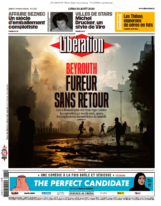 Libération – 10.08.2020