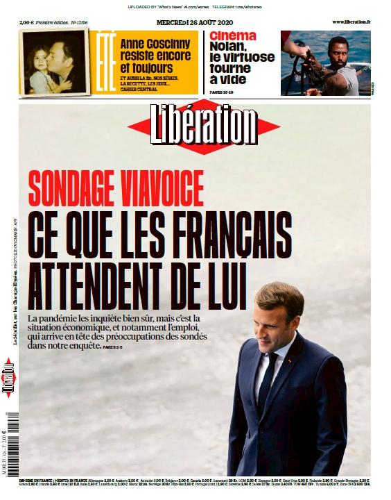 Libération – 26.08.2020