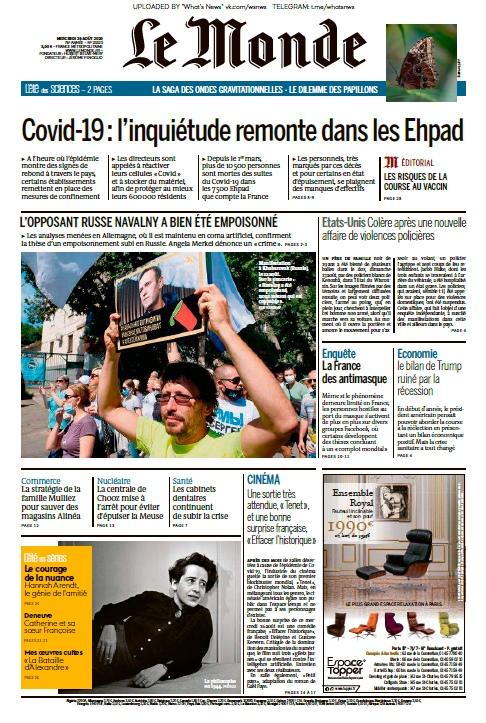 Le Monde – 26.08.2020