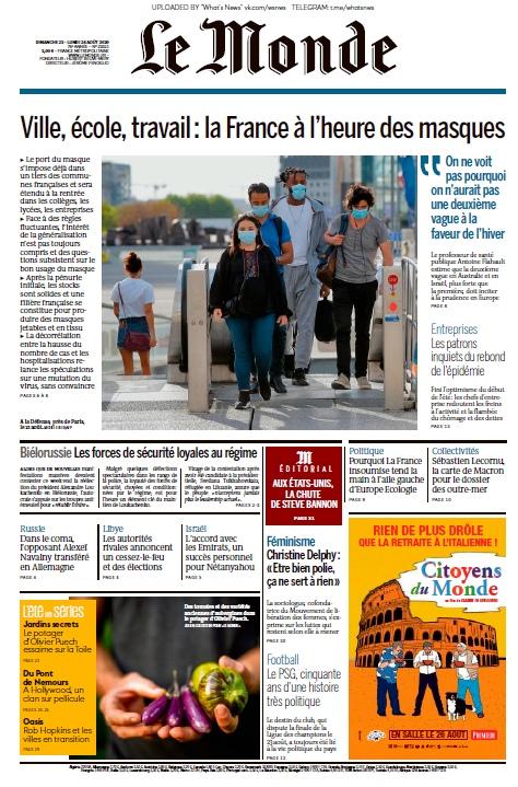 Le Monde – 24.08.2020