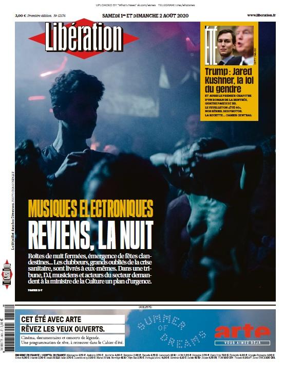 Libération – 01.08.2020 – 02.08.2020