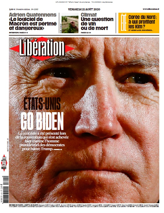 Libération – 21.08.2020