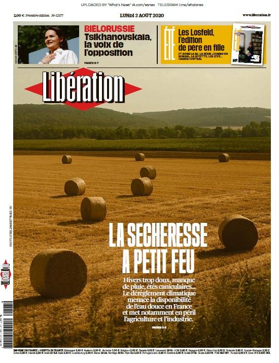 Libération – 03.08.2020