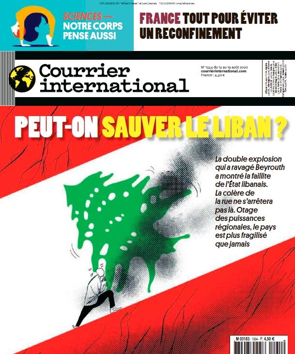 Courrier International – 13.08.2020