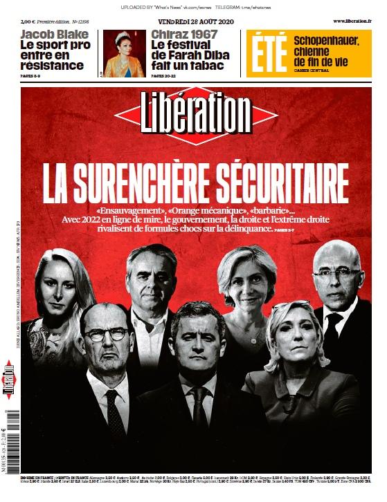 Libération – 28.08.2020