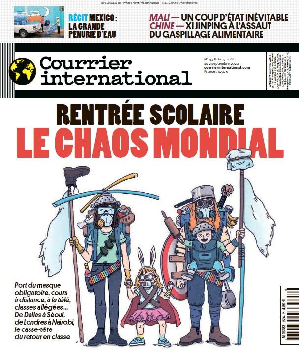 Courrier International – 27.08.2020
