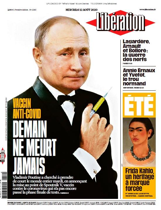 Libération – 12.08.2020