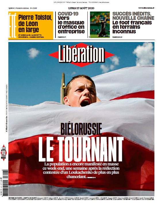 Libération – 17.08.2020