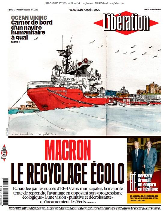 Libération – 07.08.2020