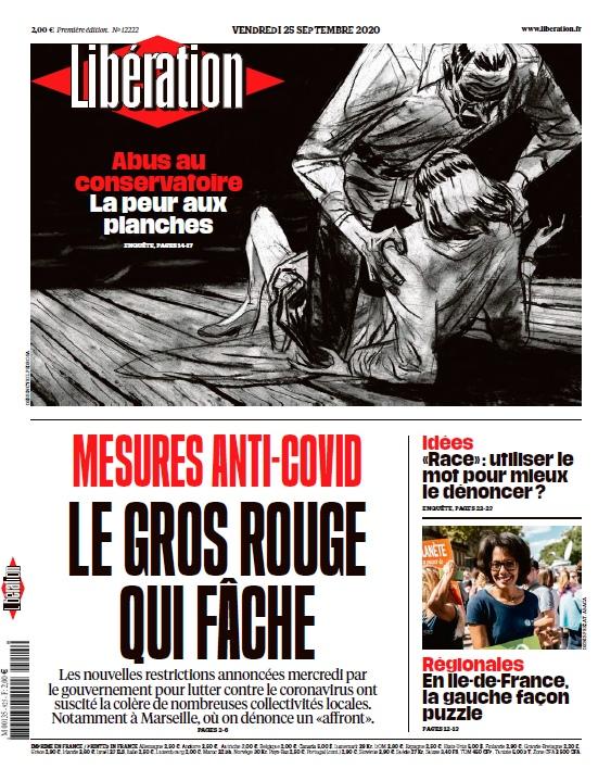 Libération – 25.09.2020