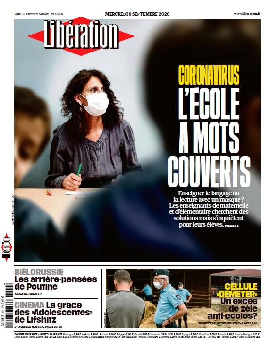 Libération – 09.09.2020