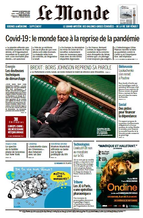 Le Monde – 16.09.2020