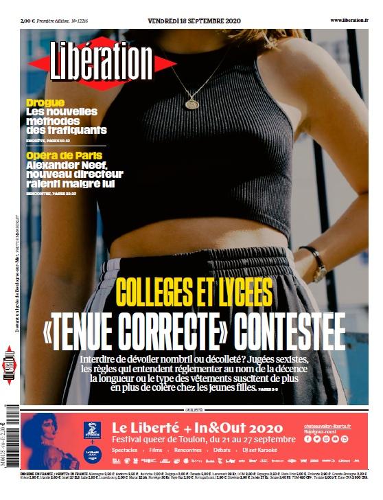 Libération – 18.09.2020