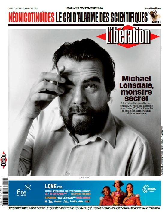 Libération – 22.09.2020