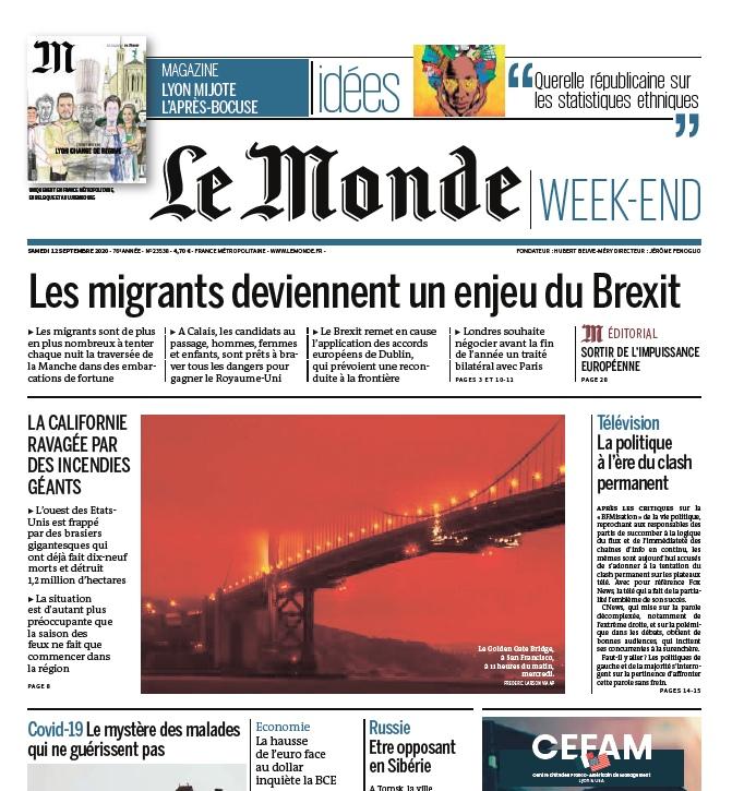 Le Monde – 12.09.2020