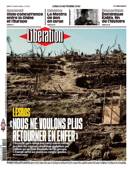 Libération – 14.09.2020