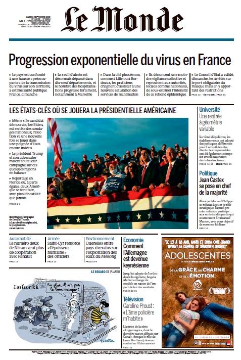 Le Monde – 08.09.2020