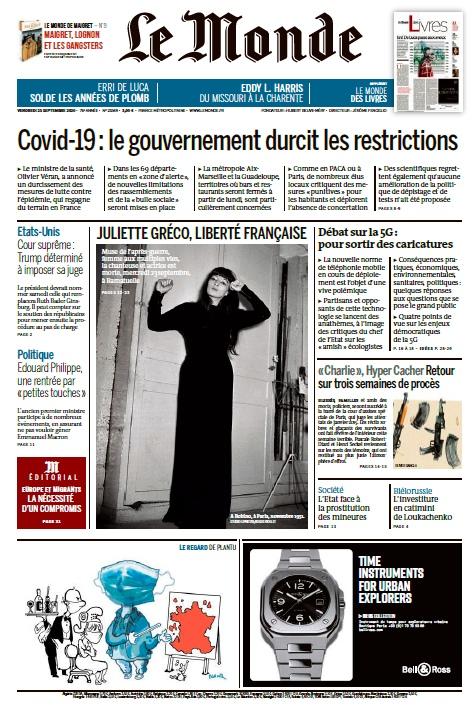 Le Monde – 25.09.2020