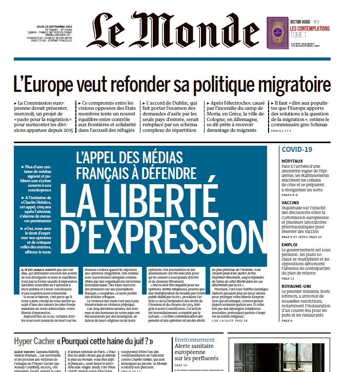 Le Monde – 24.09.2020
