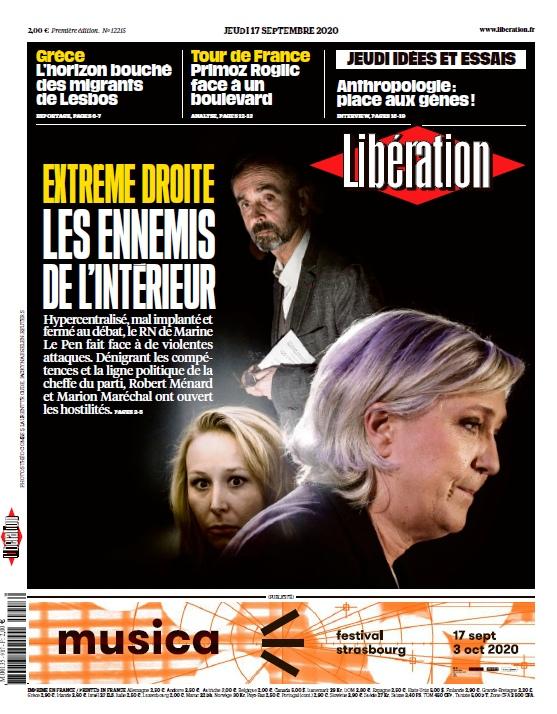 Libération – 17.09.2020
