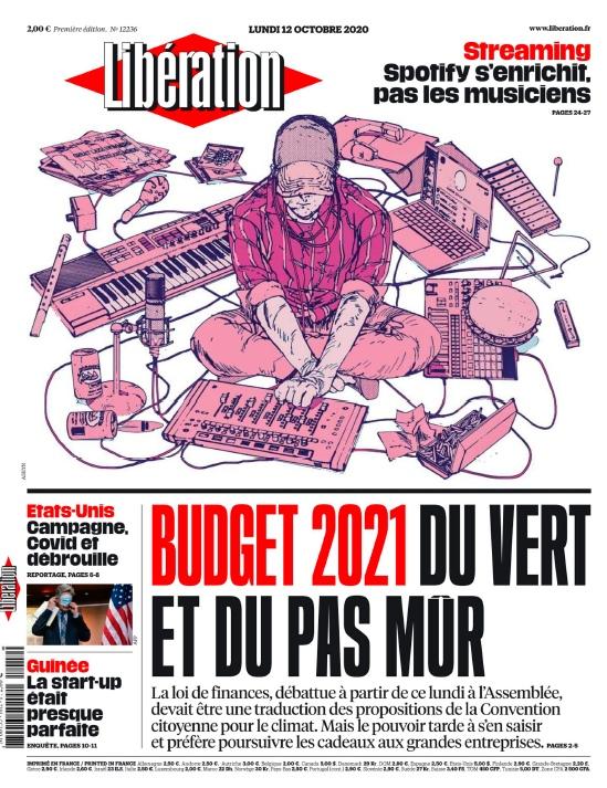 Libération – 12.10.2020