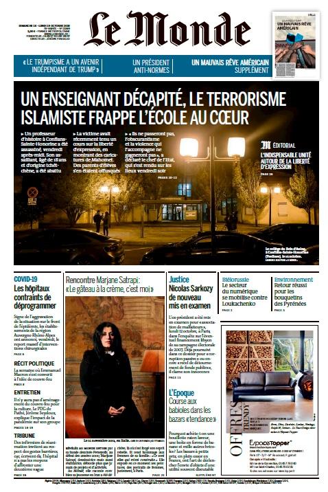 Le Monde – 18.10.2020