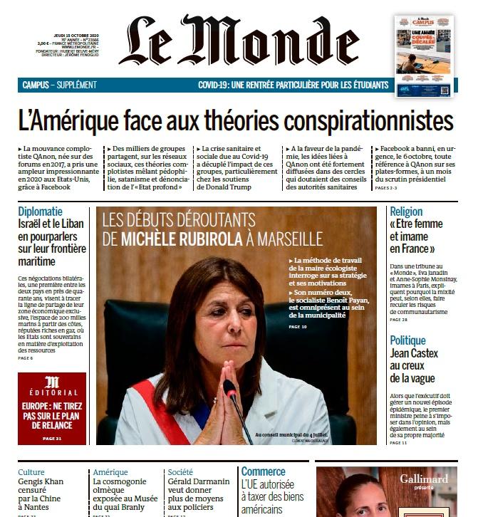 Le Monde – 15.10.2020