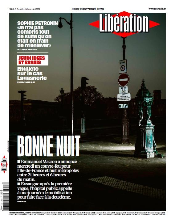 Libération – 15.10.2020