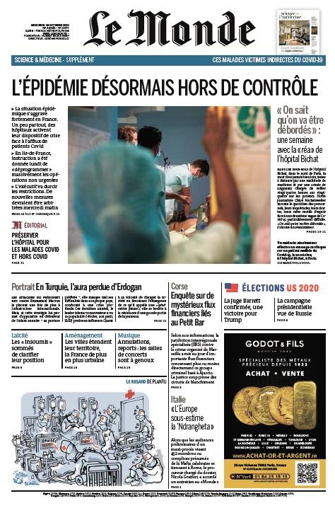 Le Monde – 28.10.2020