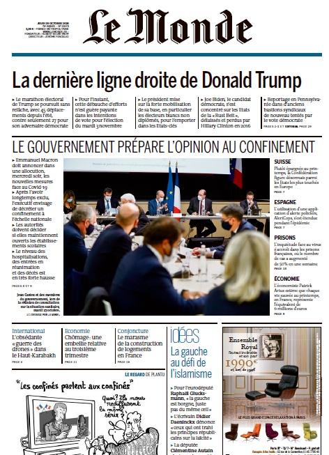 Le Monde – 29.10.2020