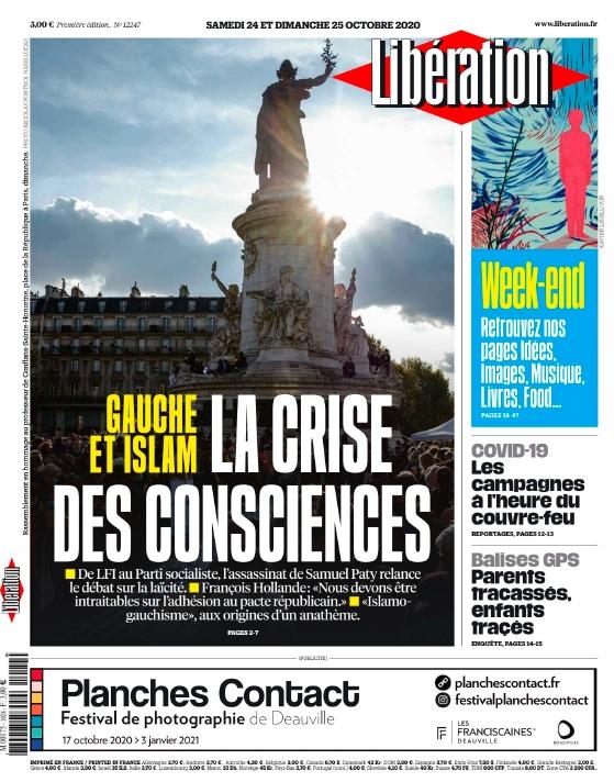 Libération – 24.10.2020