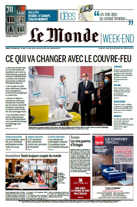 Le Monde – 17.10.2020