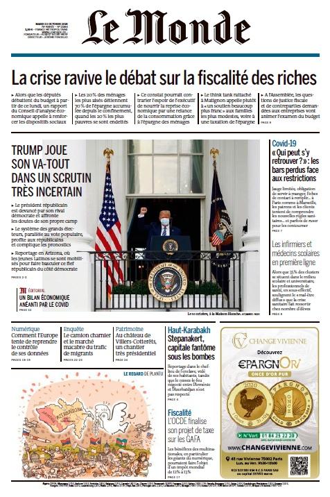 Le Monde – 13.10.2020
