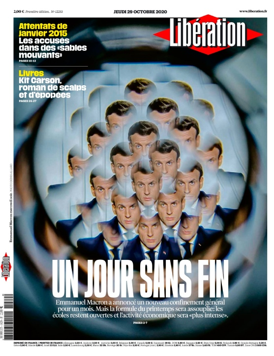 Libération – 29.10.2020