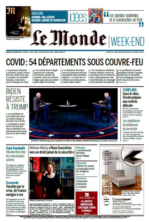 Le Monde – 24.10.2020