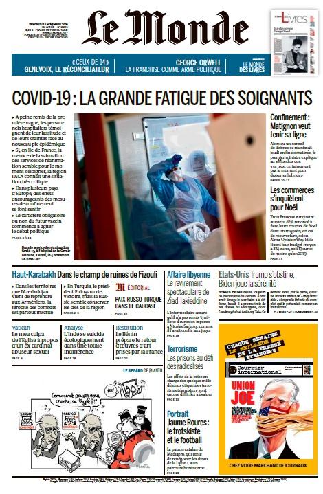 Le Monde – 13.11.2020