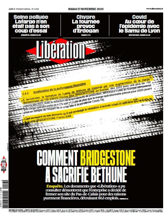 Libération – 17.11.2020