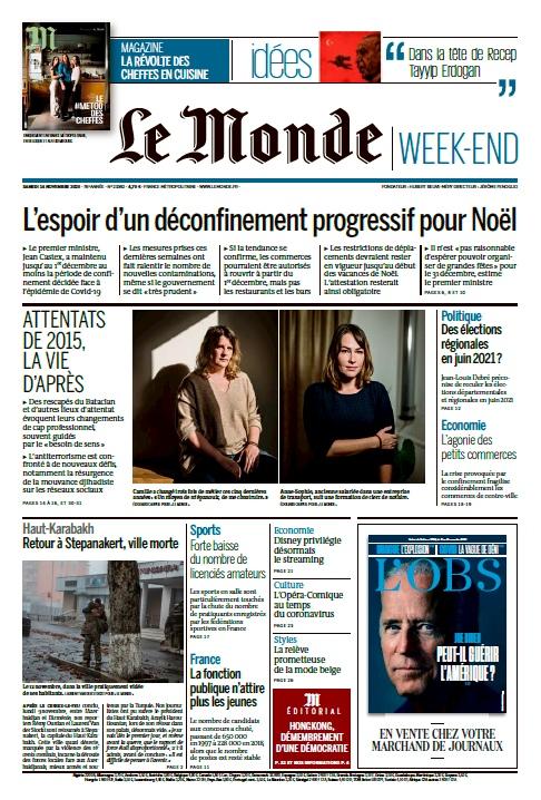 Le Monde – 14.11.2020